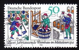 BRD 1980 - Zwei Jahrtausende Weinbau In Mittrleuropa - Wein & Alkohol