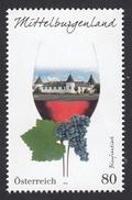 ÖSTERREICH 2016 ** Wein, Weinregion Mittelburgenland / Blaufränkisch - MNH - Wein & Alkohol