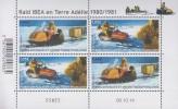 Antarctic.T.A.A.F.2014.Sheets.4v.Raid Ibea/Terre Adelie.MNH.22334 - Zonder Classificatie