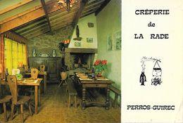 Perros-Guirec - Crêperie De La Rade (M. Menguy) - Edition Photothèque, Carte Non Circulée - Restaurants