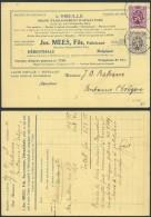AO536 Carte Postale L'abeille Apiculture De Herenthals à Fontaine L'Eveque 1931 - Erinnerungskarten