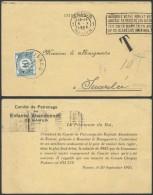 AO538 Carte Postale Taxée De Namur à Rhisnes 1925 - Cartes Souvenir