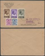 AO561 Lettre De Wetteren à Rochester USA 1937 - Bélgica
