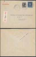 AO573 Lettre Recommandée De Bruxelles 8 à Forest 1938 - Belgien