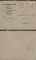 AO596 Lettre Boulangeries Réunies De Liège à Namur 1920 - Belgique