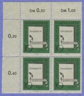 "DDR SC #367-8 (SET/2) MNH B4 1957 ""Savings Week"", CV $4.40 (I) - [6] Democratic Republic"