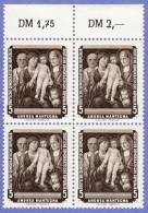 DDR SC #355-60 (SET/6) MNH B4 1957 Paintings, CV $20.00 (I) - Unused Stamps