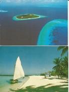 2 CART. MALDIVE (45) - Maldive