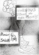 Premier Salon De La CPM, Nantes 1986, Au Pays Du Muscadet - Illustration Gaston Touraine - Carte Non Circulée - Illustrators & Photographers