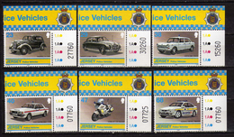 Jersey 2002 Police Vehicles.cars.Volvo,motors,MNH - Jersey