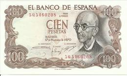 BILLETE 100 PESETAS, 17/11/1970  ( SIN CIRCULAR) - [ 3] 1936-1975 : Régimen De Franco
