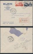A882 France Lettre Recommandée De Montreuil Sous Bois à Saigon ( Vietnam Indochine ) 1952  - En-tête Musique Piano - Storia Postale