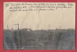 Identifié à Luttre - Bombardement De Convoi Ferroviaire En 1944 - 7 - Photo 15 Cm /10 Cm ... Document Unique - War 1939-45