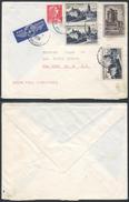 A888 France Lettre De Paris à New York  ( USA ) 1956 - France