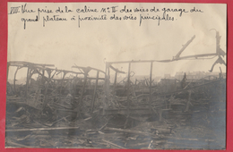 Identifié à Luttre - Bombardement De Convoi Ferroviaire En 1944 - 8 - Photo 15 Cm /10 Cm ... Document Unique - War 1939-45