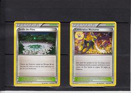 LOT De 2 Cartes POKEMON     Etat NEUF   DRESSEUR Stade Pokemon - Playing Cards (classic)