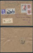 A899 France Lettre Recommandée De Paris Pour La Ville 1951 - France