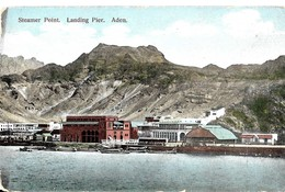 Arabie Saoudite. Aden. Steamer Point, Landing Pier. - Saudi Arabia