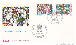 Vatican City 1980 Omnes Sancti FDC Vaticano - FDC