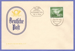 DDR SC #B26 1954 S-P / Dam FDC 08-16-1954 - [6] Democratic Republic
