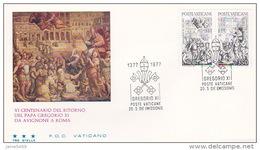 Vatican City 1977 Pope Gregorius FDC Vaticano - FDC