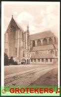 ALKMAAR Groote Kerk Tramspoor Ca 1920 ? - Alkmaar
