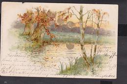 A33x /   Sonnenschein Postkarte / Haffkrug - Voorde 1903 - Künstlerkarten