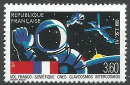 France 1989 2571 ** Émission Commune France URSS Vol Franco-Soviétique CNES Glavcosmos Intercosmos - Nuovi