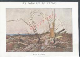 MILITARIA COUPURE DE PRESSE DU JOURNAL ILLUSTRATION 14/18 LE MOULIN DE LAFFAUX : - 1914-18