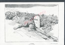 MILITARIA COUPURE DE PRESSE DU JOURNAL ILLUSTRATION 14/18 VERDUN : - 1914-18
