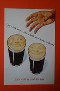CPM PUB -  GUINNESS IS GOOD FOR YOU - DESIGNER JOHN GILROY'S 1947 - Publicité