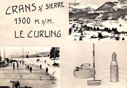 01-CRANS-SUR-SIERRE- LE CURLING , MULTIVUES - France