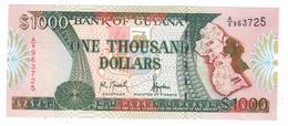 Guyana 1000 Dollars , P-33 , UNC. - Guyana