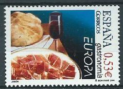 ESPAGNE SPANIEN SPAIN ESPAÑA 2005 EUROPE GASTRONOMY ED 4159 YV 3746 MI 4041 SG 4105 SC 3354 - Music