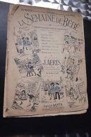 La Semaine De Bébé Brochurej Aerts - Andere Sammlungen
