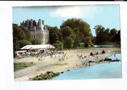 40765 - Selles Sur Cher La Plage Et Le Chateau - Selles Sur Cher