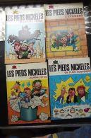 LES PIEDS NICKELES Lot 4 N° 26 32 49 53 1979 - Altre Collezioni