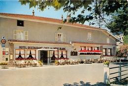"""01-VONNAIS- """"CHEZ LA MERE BLANC """" HOTEL RESTAURANT - France"""