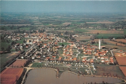 01-AMBERIEUX EN DOMBES- VUE  AERIENNE - France