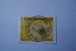 FRANCE 2017   LIONS INTERNATIONAL  1917 - 2017  Beau  Cachet Rond Sur TN - France