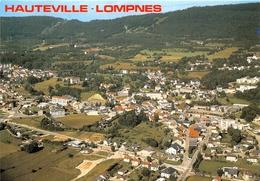 01-HAUTEVILLE-LOMPNES- VUE GENERALE AERIENNE - Hauteville-Lompnes