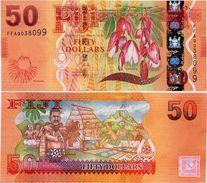 FIJI       50 Dollars       P-118a      ND (2013)       UNC - Fidji