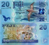FIJI       20 Dollars       P-117a      ND (2013)       UNC - Figi