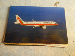 AIRLINE ISSUE / CARTE COMPAGNIE     TAP AIR PORTUGAL   A 320 - 1946-....: Moderne