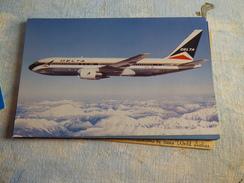 AIRLINE ISSUE / CARTE COMPAGNIE     DELTA AIRLINES   B 767 - 1946-....: Era Moderna