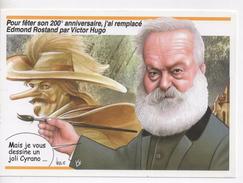 CPM.Illustrateur Signé.Bernard Veyri.Salon De La CPA Bergerac 2002.Caricature.verso Dessin De L'illustrateur - Veyri, Bernard