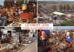 01-LEYMENT- LA FOIRE A LA FARFOUILLE DE LEYMENT A LIEU CHAQUE ANNEE LE DERNIER DIMANCHE D'AOUT MULTIVUES - France