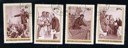 Poste BURUNDI 1970 - 4 Timbres Collection Vladimir Lénine - Burundi