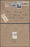 A905 France  Lettre Recommandée De Grasse à La Celle St Cloud 1951 - France