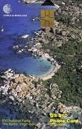 *BRITISH VIRGIN ISLANDS* - Scheda A Chip Usata - Isole Vergini